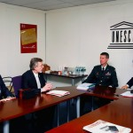 IWR Director Pietrowsky Discusses the Agreement with Director-General Koïchiro Matsuura