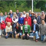 HELP workshop participants on the Clackamas River field trip.  Photo credit: Heejun Chang