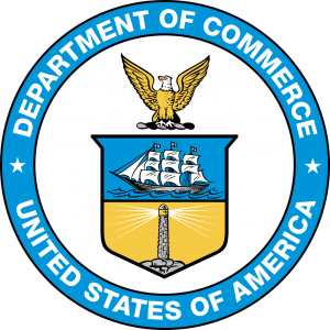 Logo for U.S. Department of Commerce