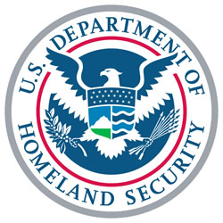 Logo for U.S. Department of Homeland Security (DHS)