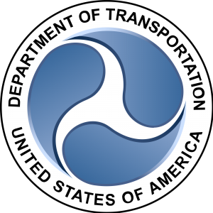 Logo for U.S. Department of Transportation (DOT)