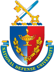 Logo for National Defense University (NDU)