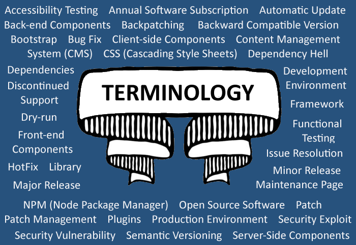 Website Upgrade & Maintenance Terminology Guide