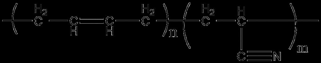NBR Acrylonitrile Butadiene Rubber ou Buna-N