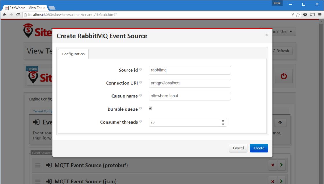 RabbitMQ Event Source