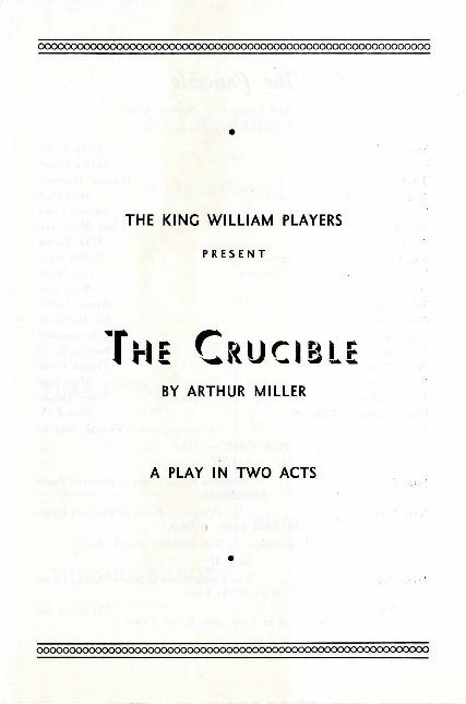 The Crucible Play Pdf