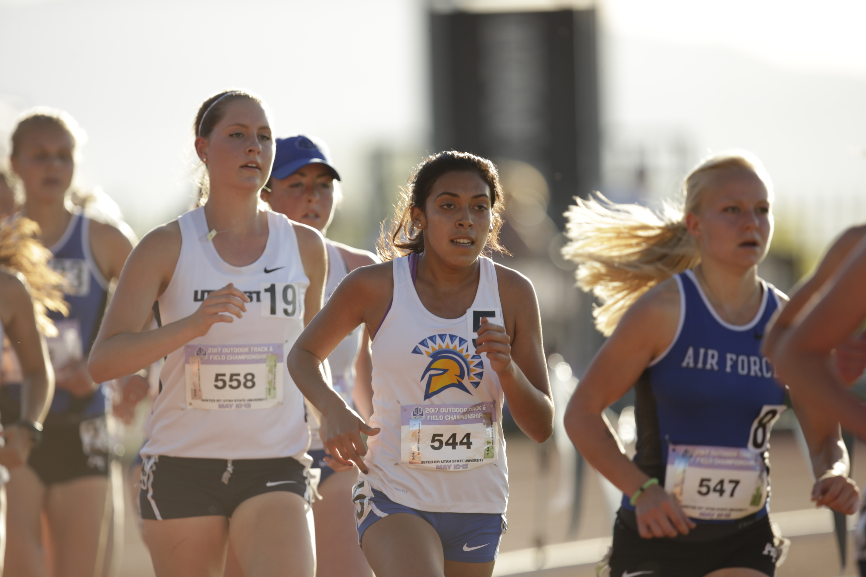 Jennifer Sandoval is one of four freshmen in the West Region to qualify for the preliminary championship 10,000 meters.
