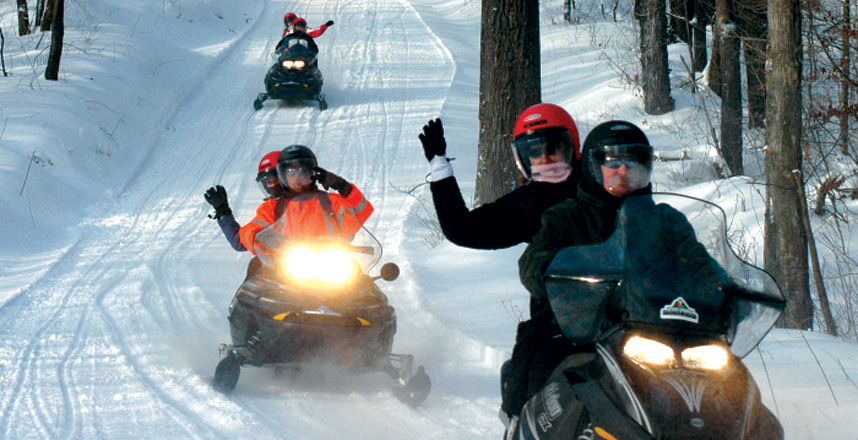 outdoor activities for adults. Snowmobile Tours Outdoor Activities For Adults