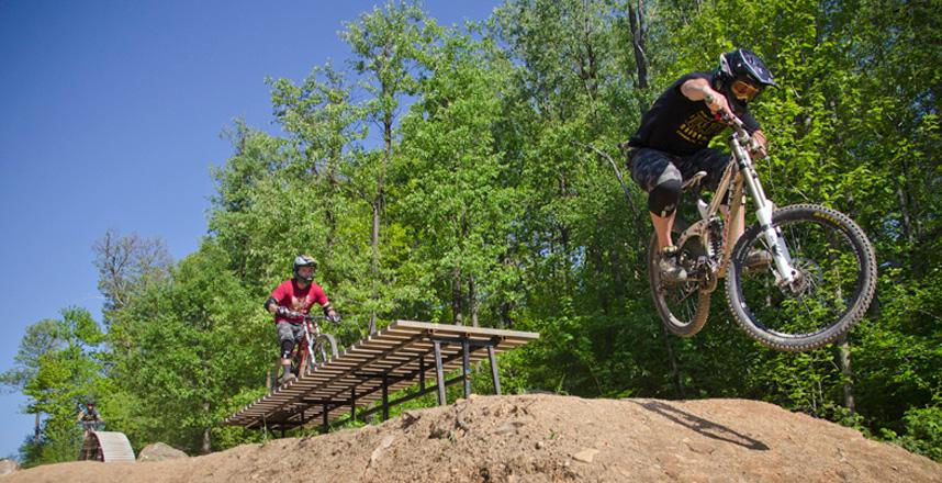 Downhill Bike Park PA Pennsylvania Ski Resort Four  : 253 from www.7springs.com size 858 x 440 jpeg 257kB