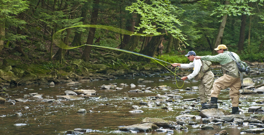 Fly fishing pa pennsylvania ski resort four season for Trout fishing pa