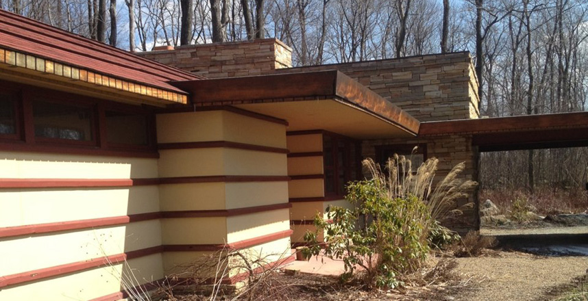 Usonian Home By Frank Lloyd Wright On Market For 4 9 Million moreover Inerior Design Inspirations likewise Franklin Living Room Furniture as well 999 in addition Duncan House. on fallingwater dining
