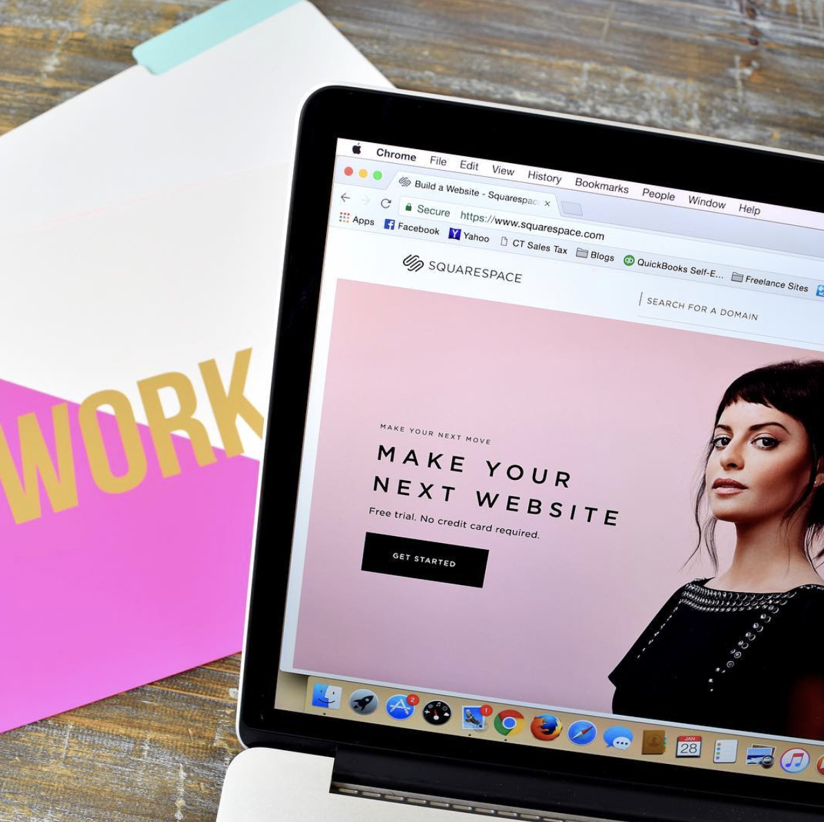 Set Up Your Squarespace