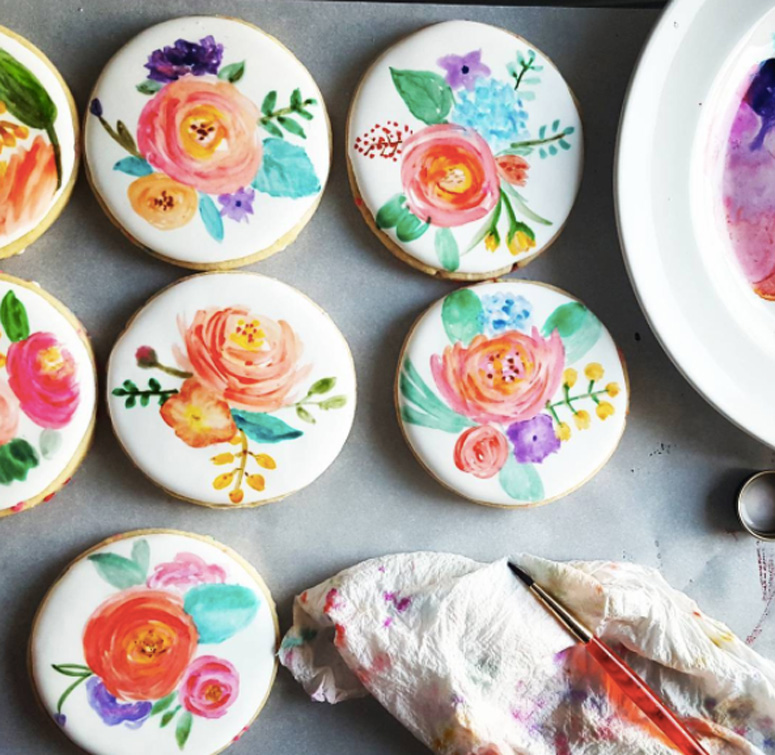 watercolor cookie decorating skillpop