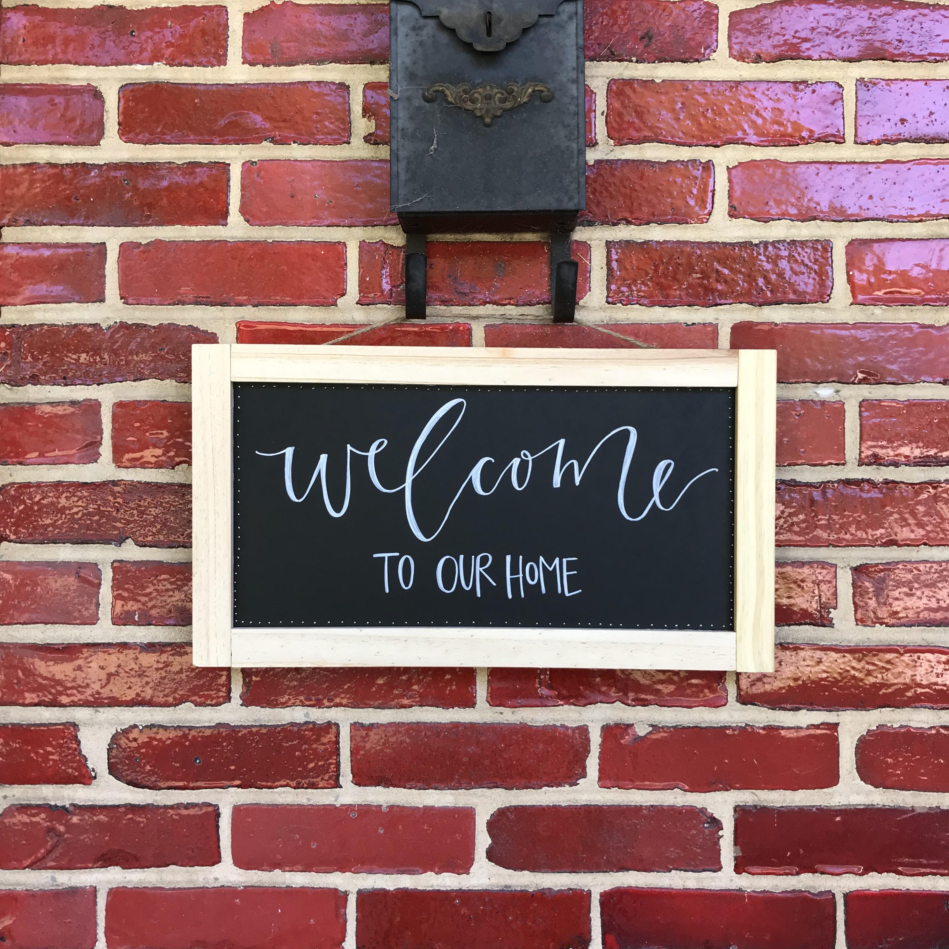Handlettered Chalkboard Signs