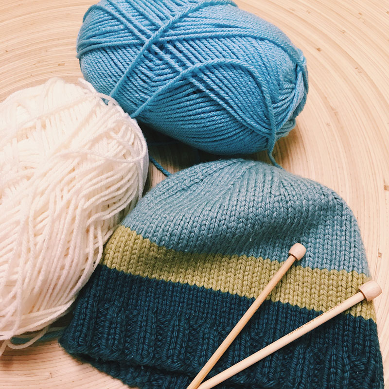 Knitting Your Own Hat
