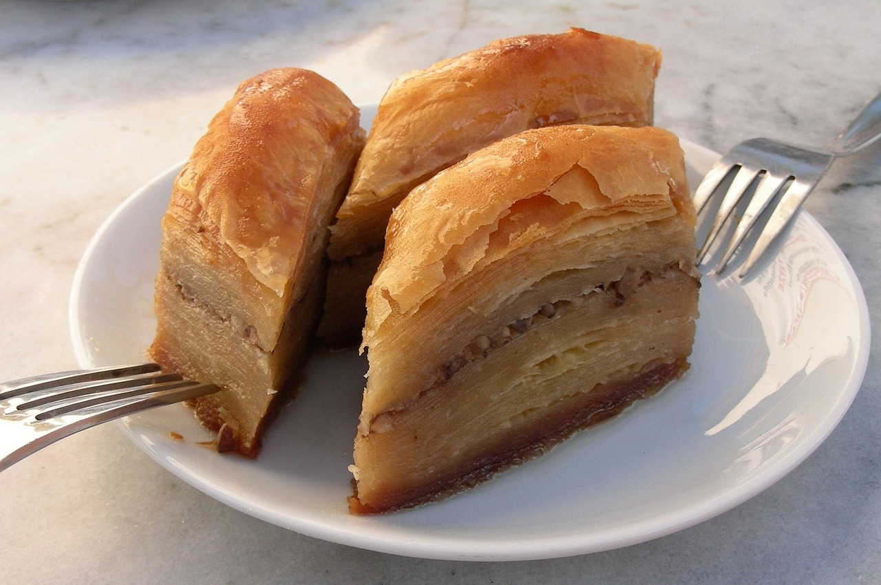 How to Make Baklava & Spanakopita