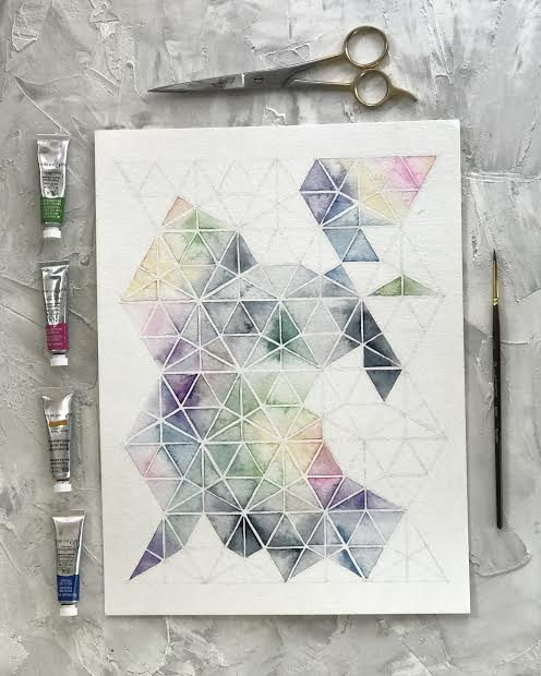 Abstract Watercolor Prints
