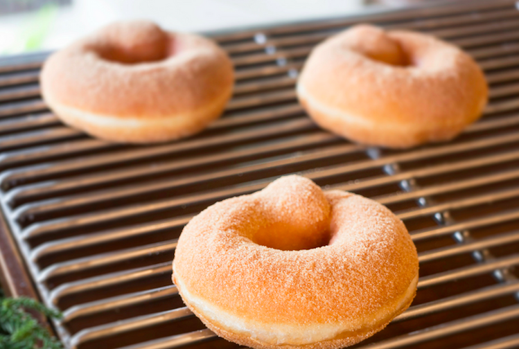 Baking Homemade Donuts
