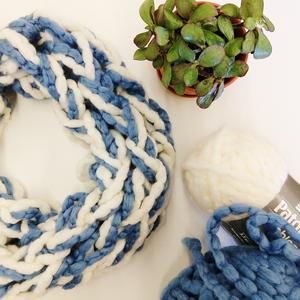Arm Knit Scarf Workshop