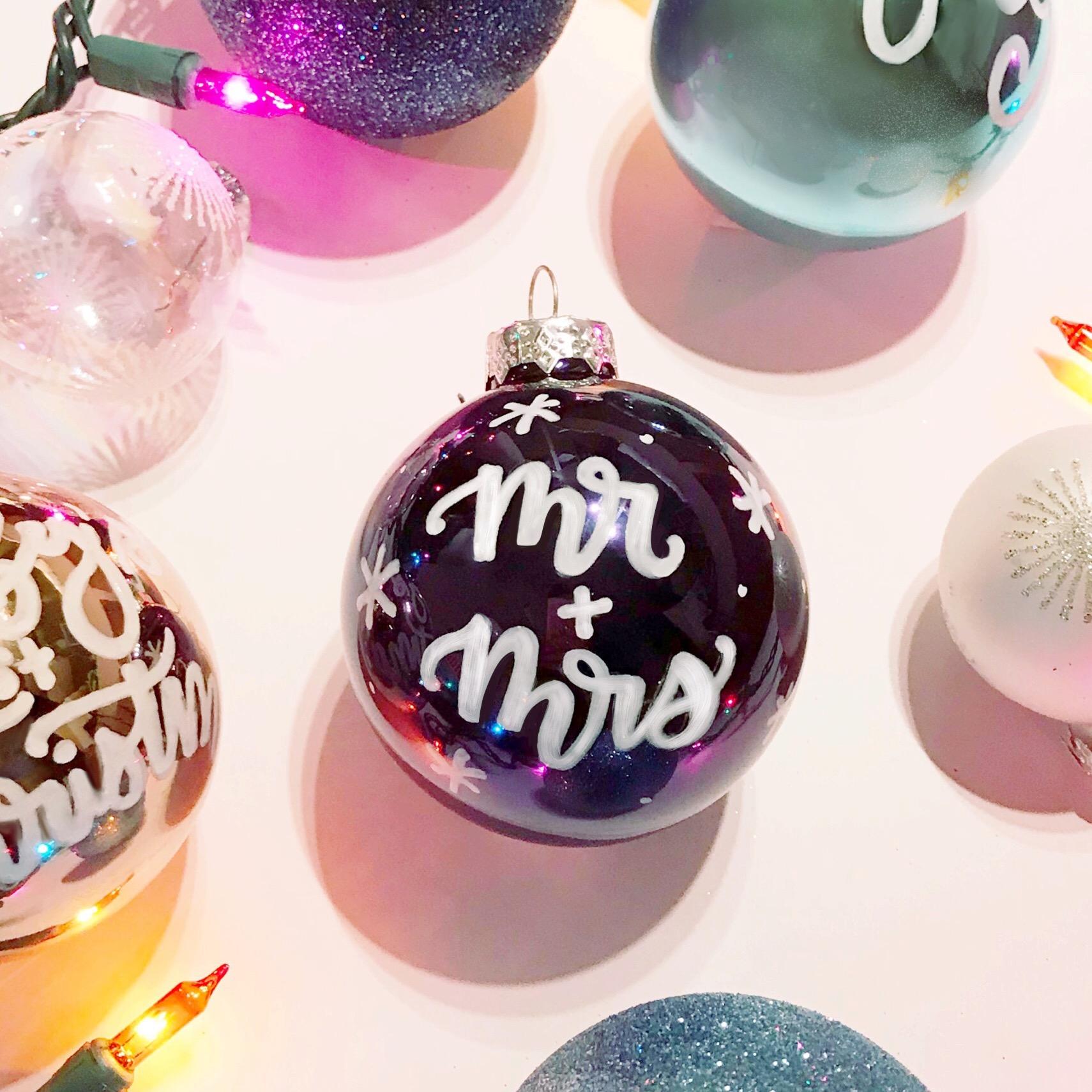 Handlettered Ornament Workshop
