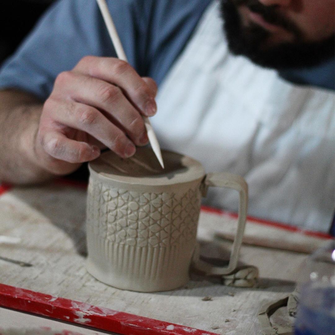 Handmade Ceramic Mug Design