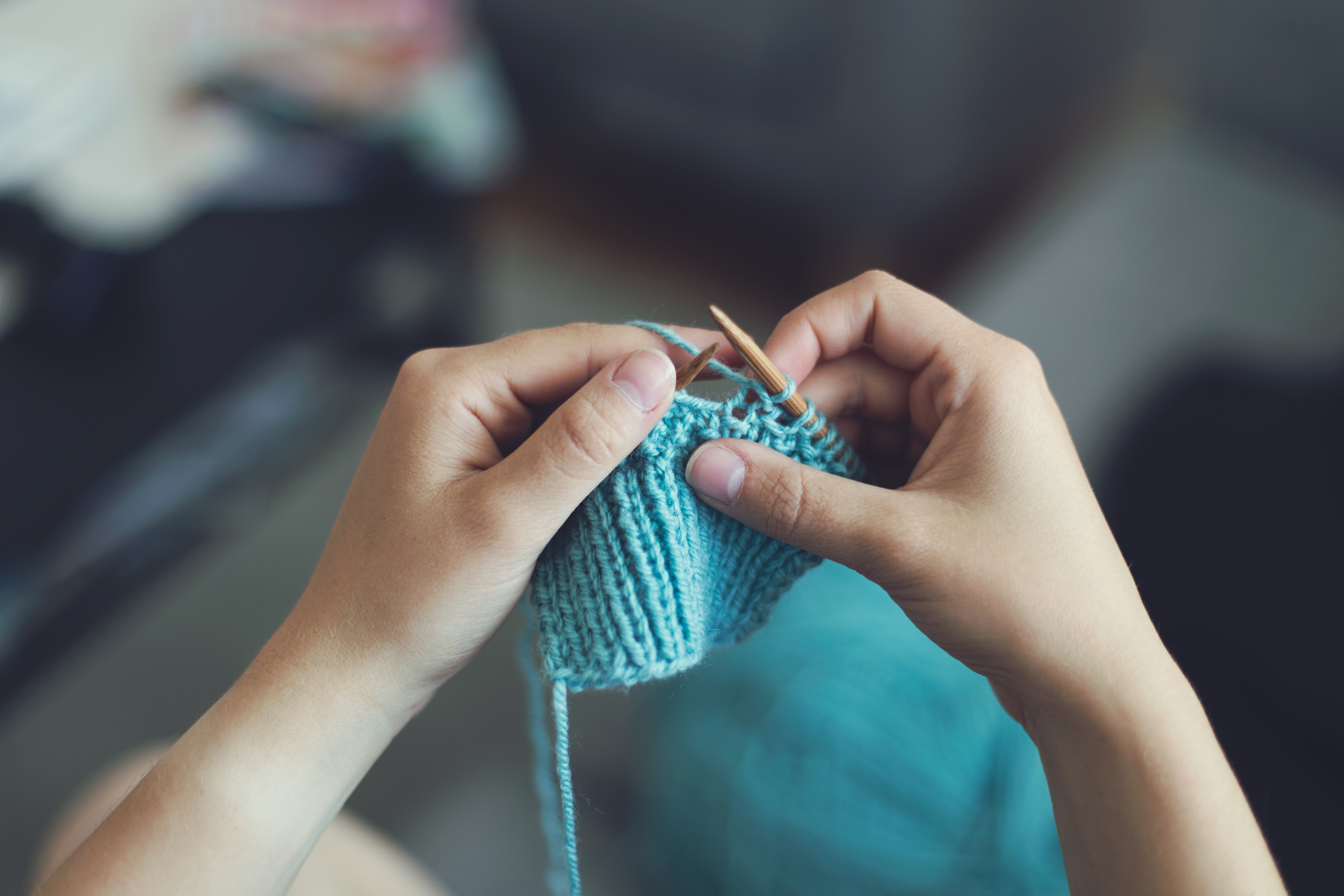 Novice Knitting