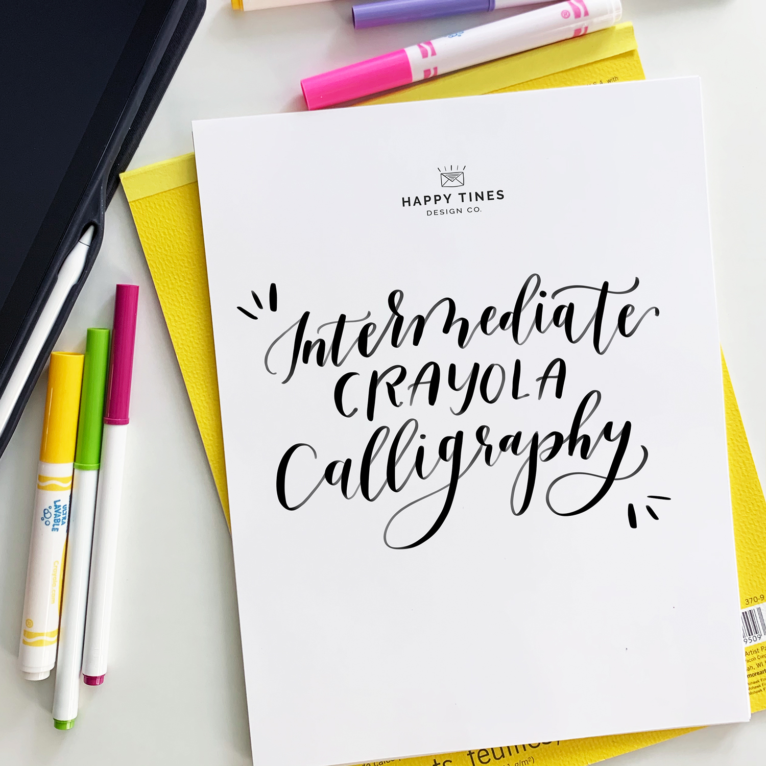 Intermediate Crayola Calligraphy