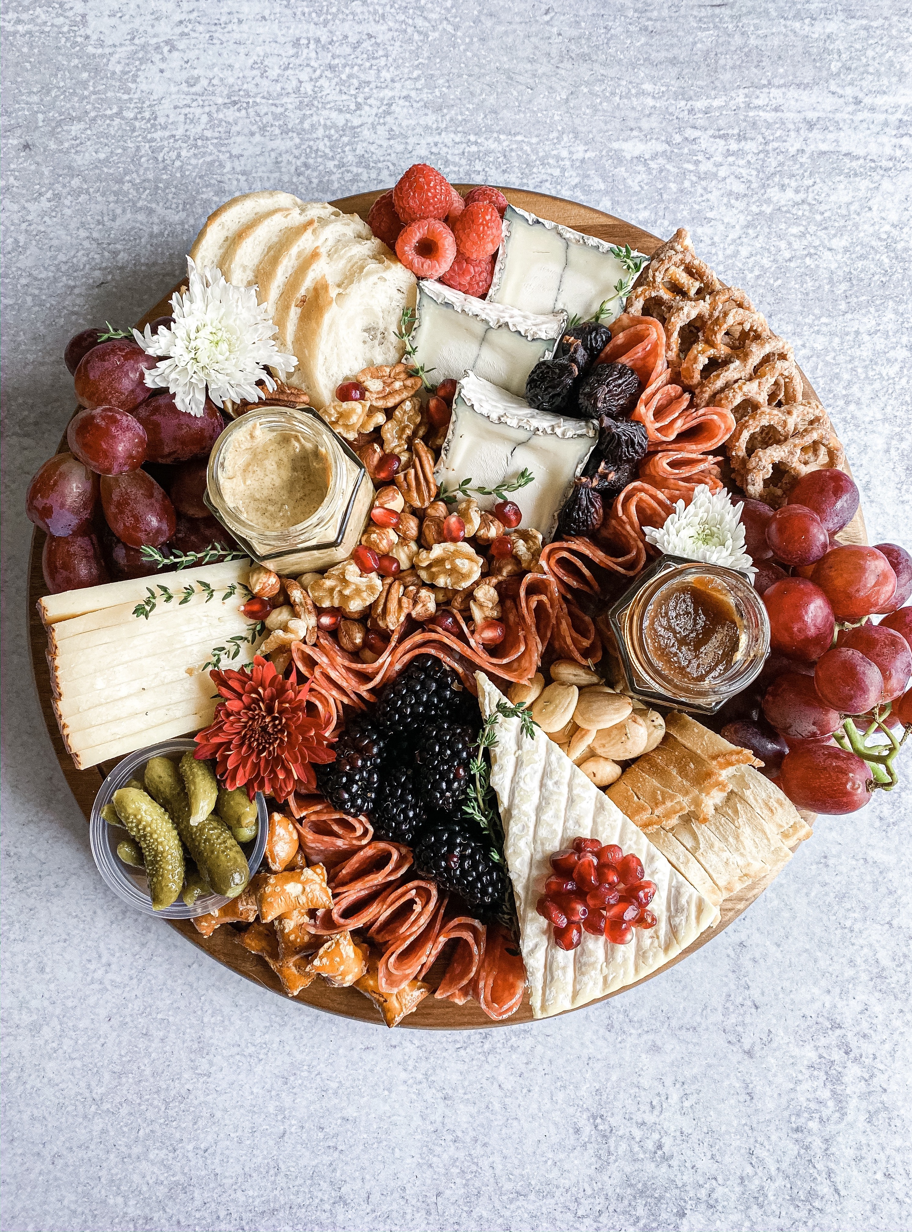 Thanksgiving Cheeseboard Creation