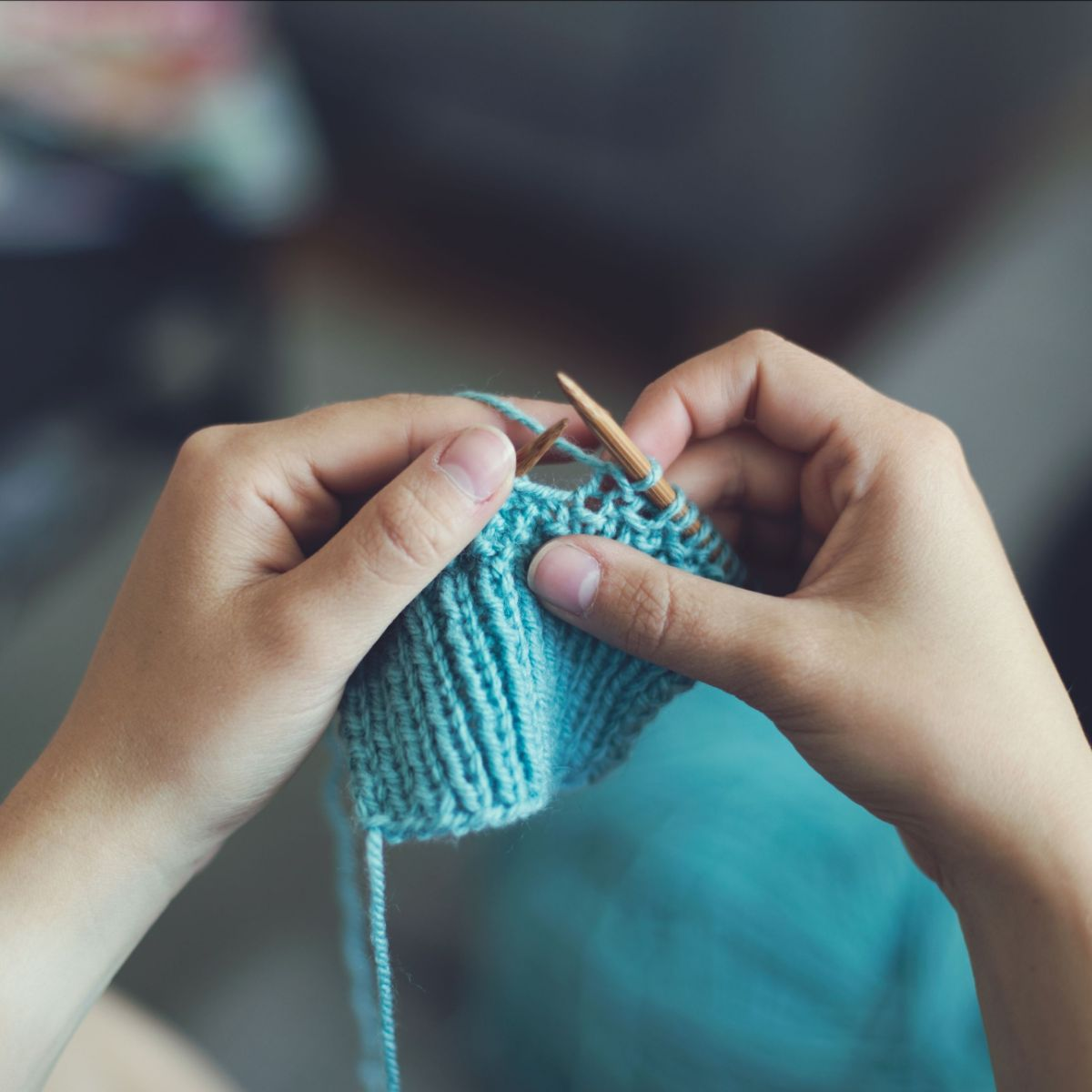 Novice Knitting