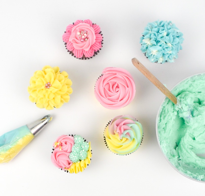 Cupcake Decorating Basics