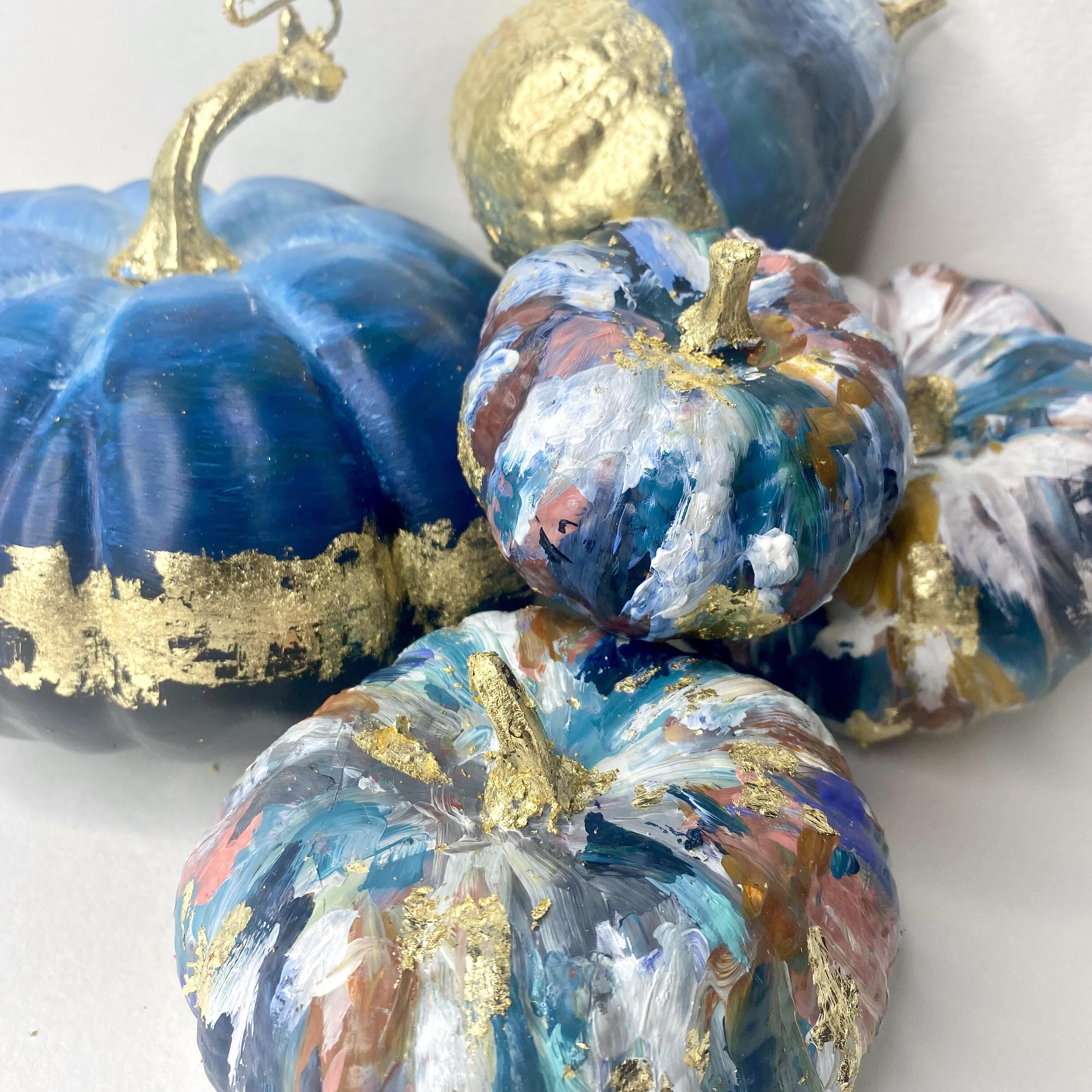Abstract Mini Pumpkins