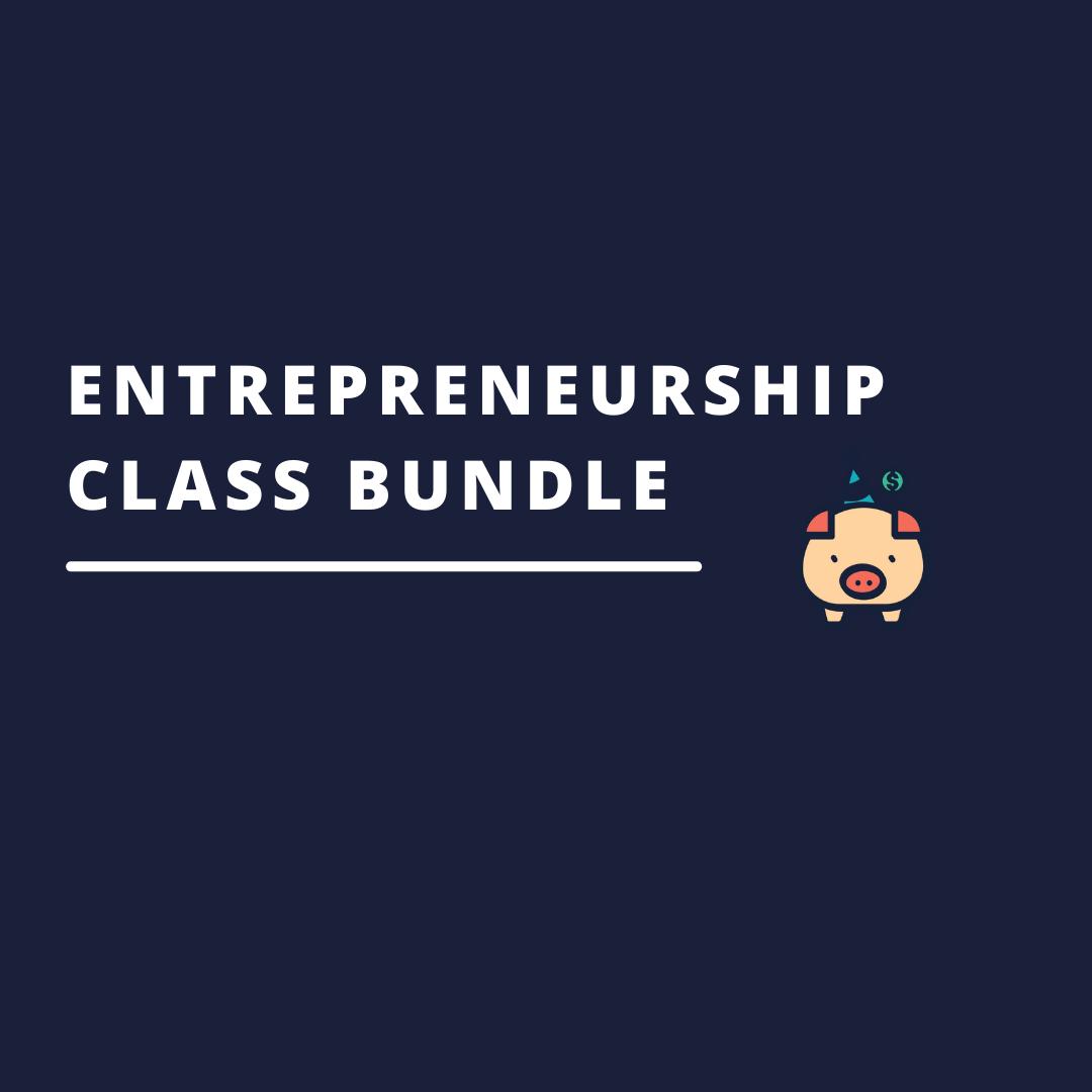 Entrepreneurship Class Bundle