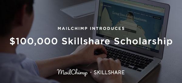 $100K Skillshare Scholarship