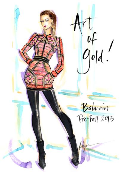 Fashion Illustration From Client Brief To Beautiful Piece Jennifer Lilya Skillshare