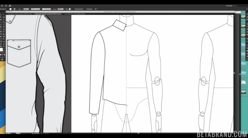 Adobe Illustrator For Fashion Cad I Introduction To Garment Flats Mickaela Roxas Skillshare