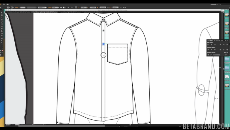 Adobe Illustrator For Fashion Cad Ii Intermediate Technical Design Mickaela Roxas Skillshare