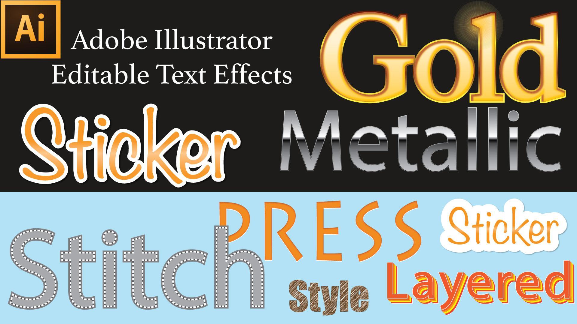 Adobe Illustrator Tutorial: Editable Effects in Illustrator