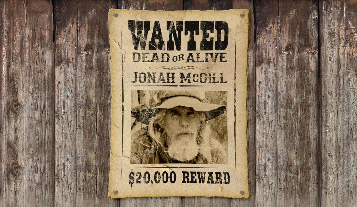 Class Projects See All Photoshop How To Make An Old West WANTED Poster