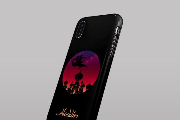 Disney Aladdin iPhone XS Max Lite Case 3