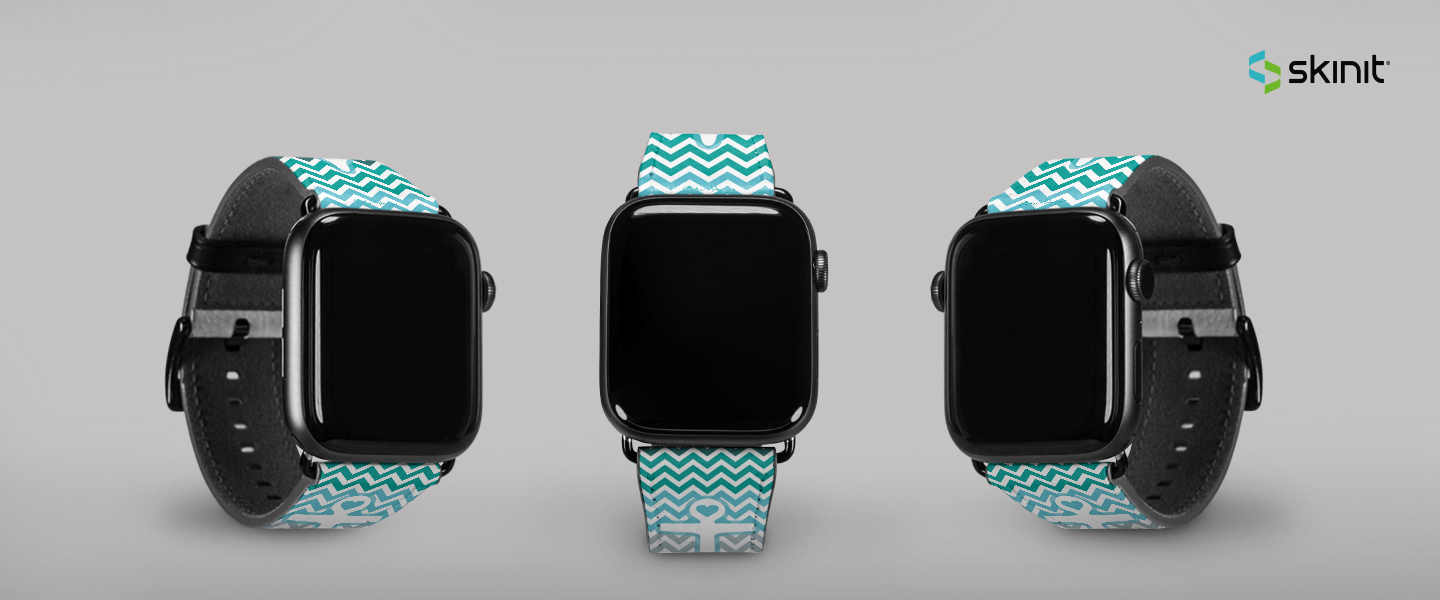 Patterns Chevron Apple Watch Band 42-44mm 5