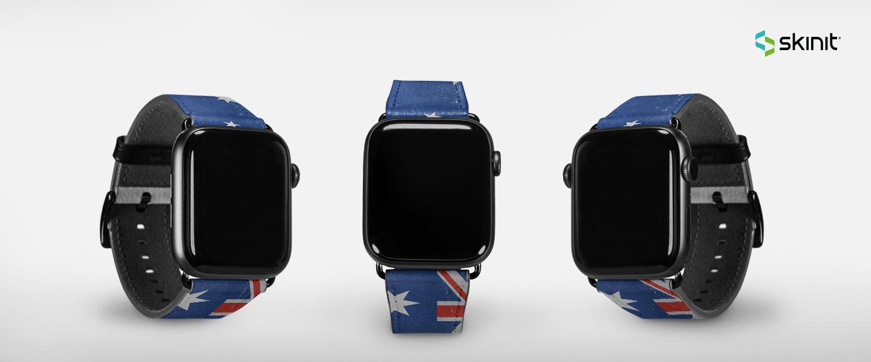 Lifestyle Australian Flags Apple Watch Band 38-40mm 5