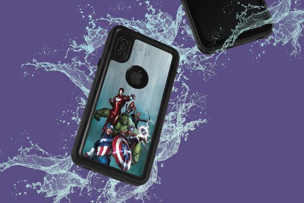 Marvel Avengers iPhone XS Waterproof Case 2