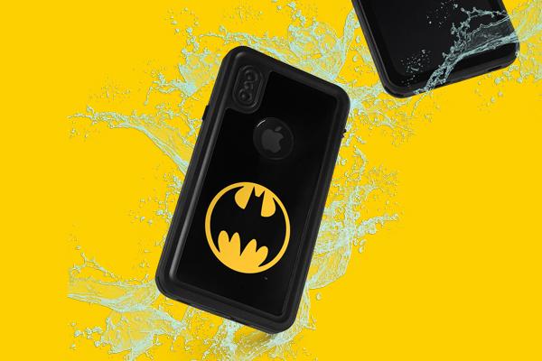 DC Comics Batman iPhone XS Waterproof Case 2