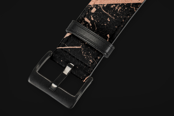 Patterns Rose Gold Marble Apple Watch Band 42-44mm 2