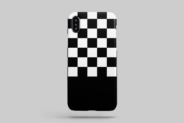 Patterns Checkerboard iPhone XS Max Lite Case 2
