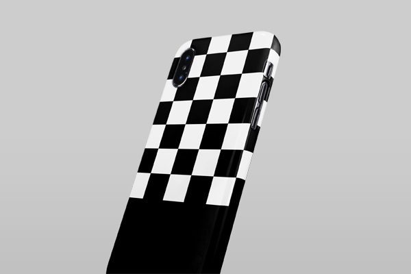 Patterns Checkerboard iPhone XS Max Lite Case 3