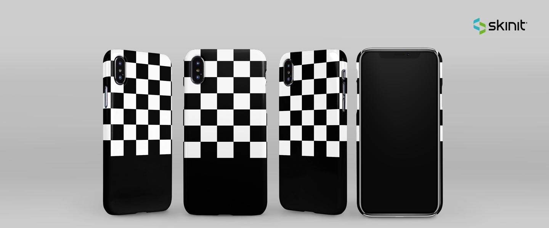 Patterns Checkerboard iPhone XS Max Lite Case 5