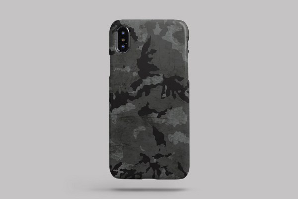 Patterns Camouflage iPhone XS Max Lite Case 2
