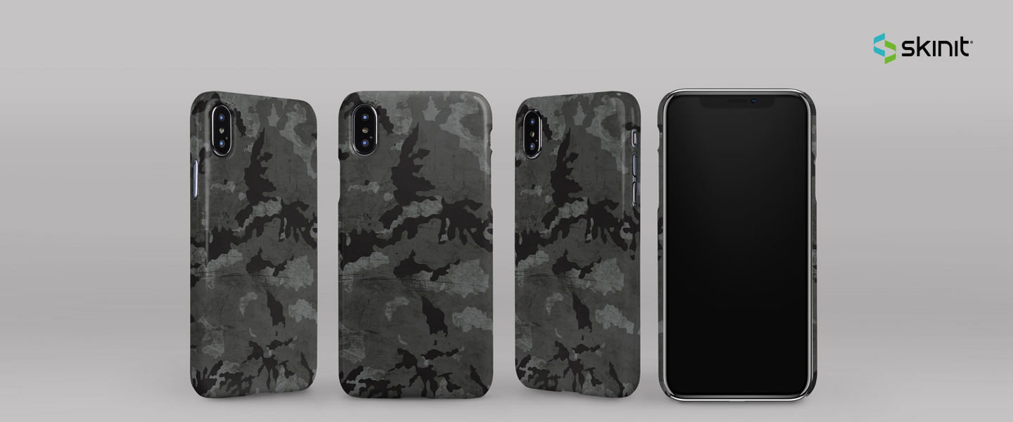 Patterns Camouflage iPhone XS Max Lite Case 5