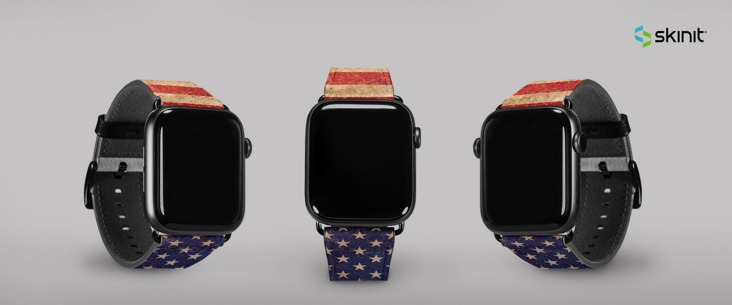 Lifestyle American Flags Apple Watch Band 38-40mm 5